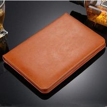 Luxury Leather Case For Apple iPad 2 Tablet For iPad 4 leather case Protective cover for ipad 3 With Magnetic Auto Wake Up Sleep
