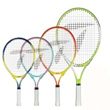 Free of shipping 17/19/21/23 inch junior tennis racquet aluminum tennis racket tennis racket for kids(China)