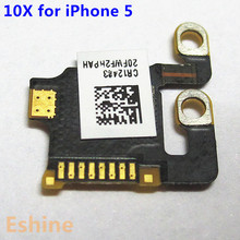 10pcs/Lot New Original Replacement Motherboard Antenna Signal Module GPS Antenna Flex Cable for iPhone 5 Repair Part