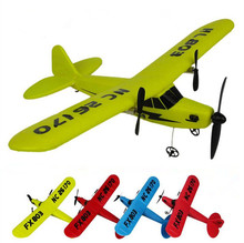 RC Plane HL-803 Electric 2 CH Foam outdoor Remote Control RC Plane 150m Distance Toys For Kids Children Gift(China)