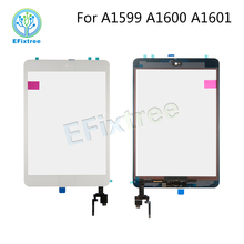 A1601 A1600 A1599 Touch Panel Assembly For iPad mini 3 Digitizer LCD Front Glass Display Assembly Black White Gold(China)