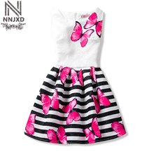 Flower Baby Girls Princess Infant Dress Girl Clothes Dresses Summer School Wear Toddler Girl Kids Party Dress for Girls 6 10 12T(China)