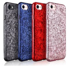 X-Level Brand For iPhone 7 / 7 Plus / 6s 6 / 6s Plus Case Ice Crystal Series Eye-Catching PC Back Cases, 4 Color