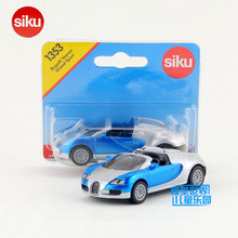 Free Shipping/Siku/Diecast Toy Car Model/Simulation:Bugatti Veyron Grand Super Sport/Educational/Collection/Small/Festival gift