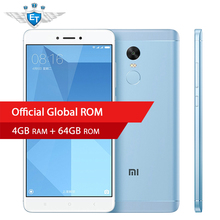 "Original Xiaomi Redmi Note 4X Mobile Phone Snapdragon 625 Octa Core 4GB 64GB 5.5"" FHD 13MP Fingerprint Global Firmware MIUI 9(China)"
