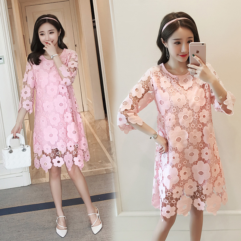 326 Korean Maternity Dresses Clothes Pregnancy Wea...