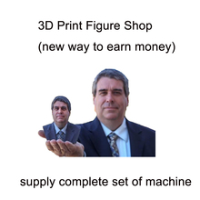 human body scan print figure make shop 3D printer 3D scanner Turntable 3D figure services complete machines