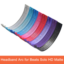 Replacement Headphone Parts Top Headband Arc for Beats Solo HD Matte Headphones Helmets Plastic Shell USURE
