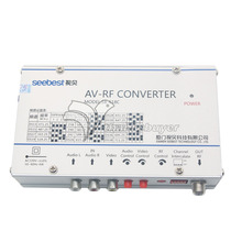 Seebest SB-618C RF Converter Audio Video Frequency Agility Modulator AV Converter