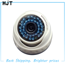 AHD HD 720P 1.0MP Video Camera White Plastic Dome Camera CCTV security Indoor 36IR Night Vision