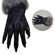 New Party Masks Classic Halloween Werewolf Wolf Paws Claws Cosplay Gloves Creepy Costume Party Fast Funny Gift