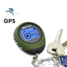 GPS Receiver&Location reliable Tracker Handheld Keychain USB Rechargeable Real Time Tracking Device For car Outdoor Travel(China)
