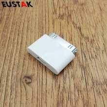EUSTAK Micro USB to 30 Pin USB Adapter Connector Converter Cable Adapter for iPhone 4 4s 4G 3GS For iPad iPod Adapter
