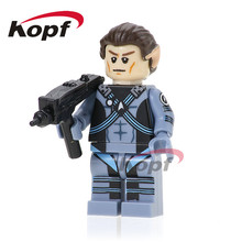 PG957 Building Blocks Star Trek Enterprise Spock Super Heroes Bricks Learning Children Model Education Collection Gifts Toys(China)