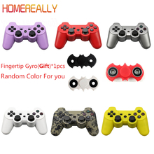 HOMEREALLY Gamepad Joystick For PS3 Controller Dualshock For Sony PS3 Console Wireless Bluetooth For Playstation 3 Controller(China)