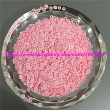 5000Pcs Pink Round Loose Sequins Sewing Crafts For Christmas Decoration Ornament Garment Shake Cards and nail arts(China)