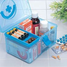 Safe and convenient kits / family health kits / children's medicine box Separate children's medicines from adult drugs