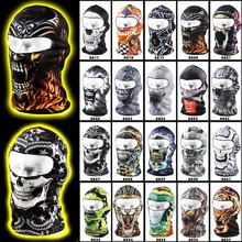 New 2017 36 Animal Active Bicycle Motorcycle Masks Hood Hat Veil Balaclava Tactical Army Helmet UV Protection Full Face Mask