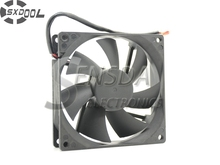 SXDOOL silent cooling fan 90mm 90*90*25 RDL9025S DC12V 0.16A 2 wire refrigerator fan(China)