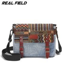 Real Field New Vintage Casual Men Male Canvas Messenger Bags Crossbody Bag Travel Bag Military Laptop Small Shoulder Bag 077
