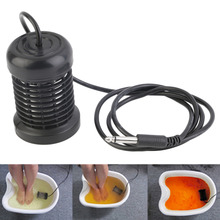 Hot Selling Detox Foot Bath Arrays Round Stainless Steel Array Aqua Spa Foot Massage Relief Tool Ionic Cleanse Ion Best Selling(China)
