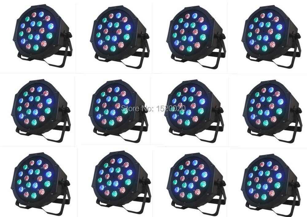 (12pcs/LOT) 18*1w RGB led par light<br>