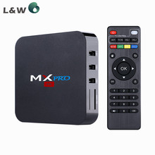 New MX PRO S905 Quad-Core Android 5.1 TV Box RAM 1G Flash 8G Kodi 16.0 Wifi 2.5GHz Built in Wifi Media Player Smart TV Box