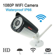 Buy 1080P CCTV Ip Camera Wireless 2.0MP Full HD Onvif P2P Outdoor waterproof Wifi Mini Cameras Network Cam IR Cut Infrared Bullet for $39.20 in AliExpress store