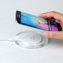 Qi Wireless Charger Charging Pad Original for SAMSUNG GALAXY S6 S6 Edge S6 Edge+ Plus S7 S7Edge Note5 Lumia 920/93 HTC 8X LG3 G4