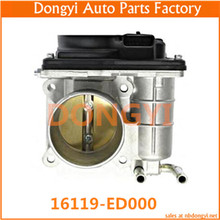 NEW HIGH QUALITY THROTTLE BODY FOR 16119-ED000 16119ED000