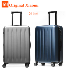 Buy Original Xiaomi Suitcase 20 inch Vintage Elastic Luggage Travel Trolley Case,Thick Waterproof Dust Proof Suitcase storage box for $122.15 in AliExpress store