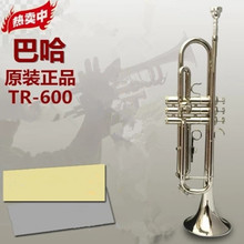 Trumpet instrument Nickel Plated Baja trumpet TR-600 down B tone Beginner Band Students first choice trumpet(China)