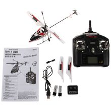 Wltoys Outdoor V911 4CH 2.4GH Single Propeller Mini Radio RC Helicopter Gyro RTF