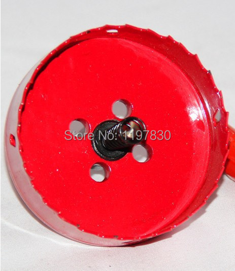 Free shipping universal hole saw 145mm M42 Bi-metal hole Saw steel iron wood plastic hole opener underreamer pipeline perforator<br>