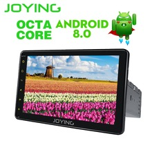 "Joying 4GB RAM OCTA CORE 8"" android 8.0 Auto Radio Stereo Single 1 Din Car Multimedia Player Capacitive GPS Car Radio Head Unit"
