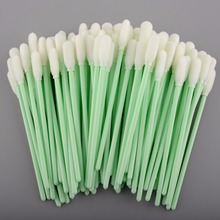 POST Free Shipping - 1000 pcs Small Foam tip Clean swab to cleaning indoor and outdoor printer(China)
