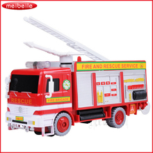 Universal Rotary Bubble Music Fire Vehicle Children's Electric Toy Luminous Music Toy(China)