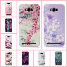 For Asus ZenFone Max case 3D Relief painting soft Silicon back cover case for Asus ZenFone Max ZC550KL Coque Fundas for asus max(China)