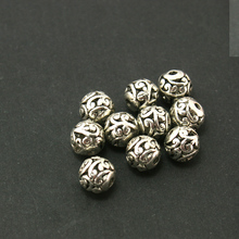 30Pcs/lot Antique Silver-Plated Hollow Alloy Charms Fit Handcraft Making CN-BJI596-69