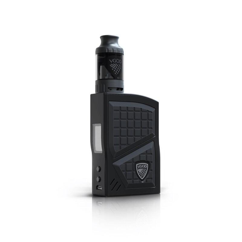 New Arrival VGOD Pro 200w Box Mod Kit TC Vaporizer Mod 4ml VGOD Sub ohm tank Atomizer Electronic Cigarettes 0.2ohm Coil Vape (2)