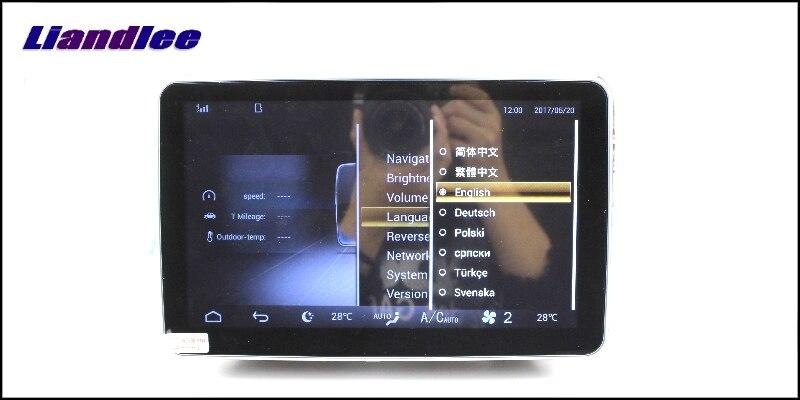 Liandlee Car Multimedia Player NAVI For Mercedes Benz MB ML M Class W164 2005~2011 Comand NTG Car Radio Stereo GPS Navigation15