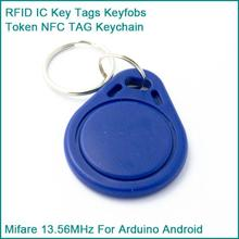 10PCS RFID Sensor Proximity IC Key Tags Keyfobs Token NFC TAG Keychain 13.56MHz For Arduino for Access Control Attendance