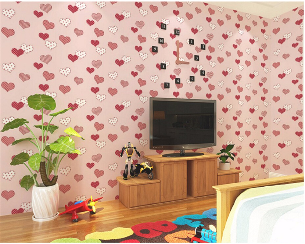Beibehang Fashion 3D wallpaper bedroom filled with cartoon themes 3D wallpaper stars children room wallpaper papel de parede 3d <br>