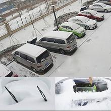 Magnetic Portable Car Cover Snow Dust Protector Extra Thick Car Truck Windscreen Snow Ice Frost Shield Magnetic Cover