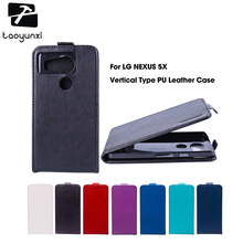 TAOYUNXI Flip Phone Cover Case For LG Google Nexus 4 5 5X Case Leather E980 D820 Nexus5 D821 E960 H79 H791 H791F H798 H790 Cover(China)
