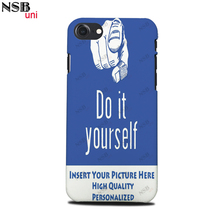 NSB uni for iPhone 7/ 8 Personal Custom-made Sublimation Cases DIY Heat Transfer Mobile Phone Covers Shells(China)