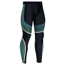 2017 high quality new fashion men's compression shorts 3D printer quick drying thin leggings to the seams of pantyhose fitness