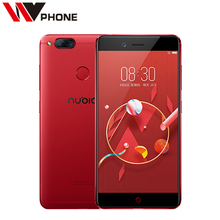 Original Nubia Z17 Mini 4G Mobile Phone 4/6G Ram 64G Rom 5.2 inch 1920 x 1080P Front 16.0MP Dual Rear 13.0MP  Fingerprint NFC