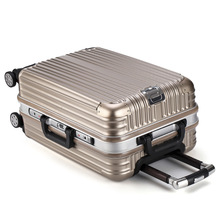 20-inch trolley case hard shell caster suitcase boarding box password box line Lee luggage(China)