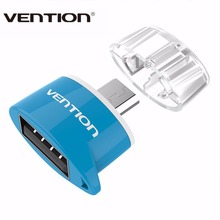 VENTION Micro USB To USB 2.0 OTG Adapter Converter For Android Smart Phone Tablet Pc to Flash Mouse Keyboard